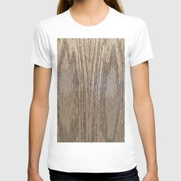 Wood Print Art Wood Closeups T-shirt
