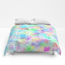 Rainbow Bubbles, Shining Stars and Color Magic Comforters