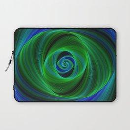 Green blue infinity Laptop Sleeve