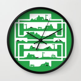 ant farm Wall Clock