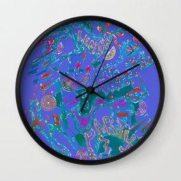 LEMON PARTY Wall Clock