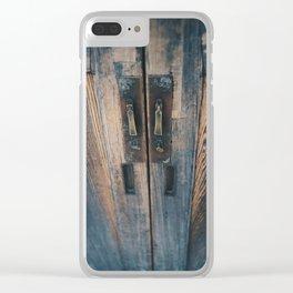 grain Clear iPhone Case