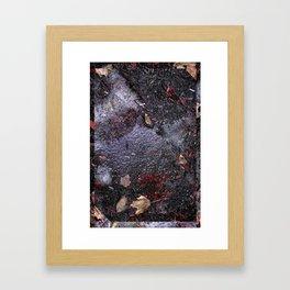Grimey things Framed Art Print