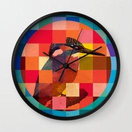 Kingfisher Sunset Wall Clock