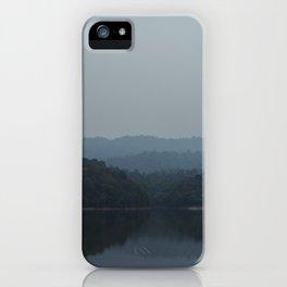 Lake of Symmetry (1) iPhone Case