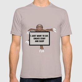 Eat, Create and Sleep T-shirt