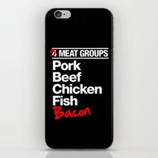 5 Major Meat Groups iPhone & iPod Skin