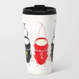 black cricket Travel Mug