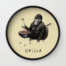 Grilla Wall Clock