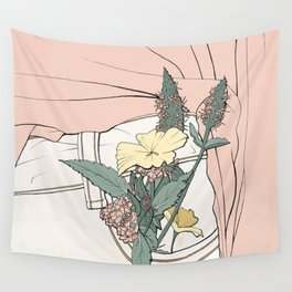 Pocket Plants Wall Tapestry