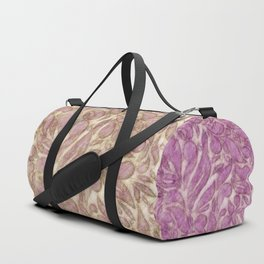 Abstract leaves - game with lines Duffle Bag