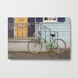 New Orleans Mardi Gras Bicycle Metal Print