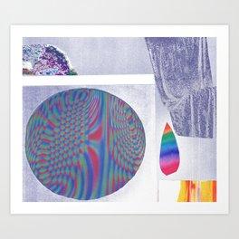 Teardrop Art Print