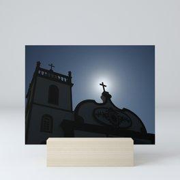 Divine light Mini Art Print