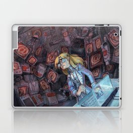 Code Romantic: Mina Poster Laptop & iPad Skin