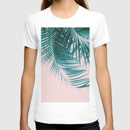 Palm Leaves Summer Vibes #1 #tropical #decor #art #society6 T-shirt