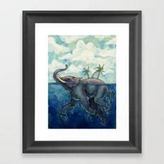 Elephant Island Framed Art Print