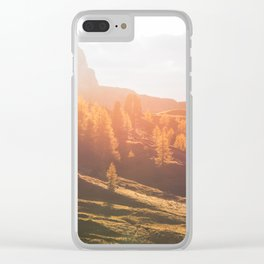 Dolomites 22 - Italy Clear iPhone Case