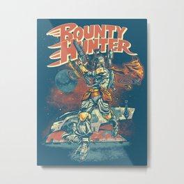 BOUNTY HUNTER Metal Print