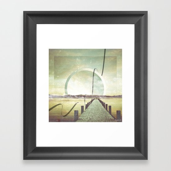 Southern Lights Framed Art Print