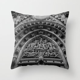 looking up at st. vitus Throw Pillow