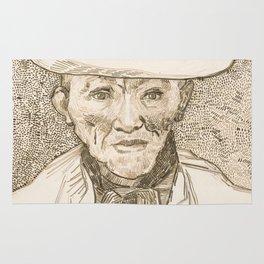 Van Gogh - Peasant of the Camargue Rug