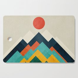 The hills are alive Cutting Board