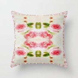 ROSAS Throw Pillow
