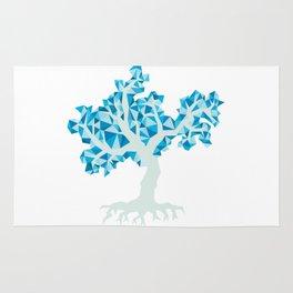Blue Tree Rug