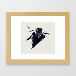 Metal Gear Framed Art Print