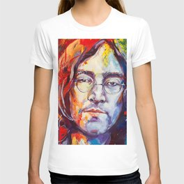 Watercolor John lenon T-shirt