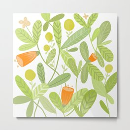 Bright and Green Metal Print