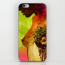 Woman. Complicated  iPhone Skin