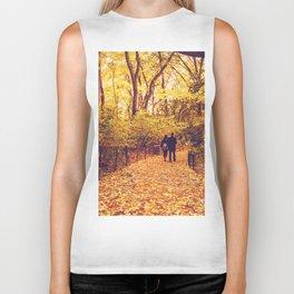 Fall Foliage - Autumn's Finest - New York City Biker Tank