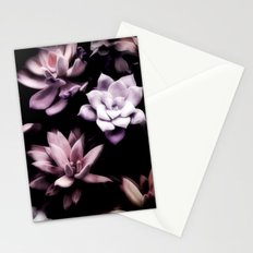 Succulent PATTERN II Stationery Cards