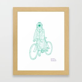 I Think... We Are Almost There. Framed Art Print