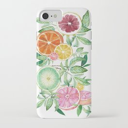 Citrus Fruit iPhone Case