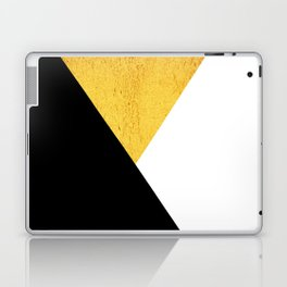 Gold & Black Geometry Laptop & iPad Skin