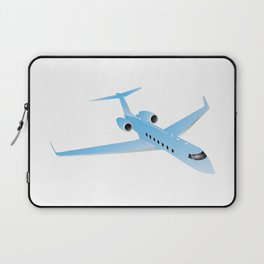Private Business Jet Airplane Laptop Sleeve