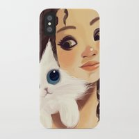 sister iPhone & iPod Cases featuring Sister by cennet kapkac