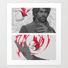 DH: Bloodflies Art Print