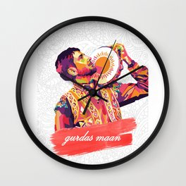 Gurdas Maan Wall Clock