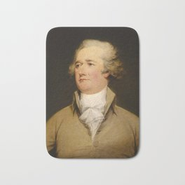Alexander Hamilton Bath Mat