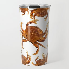 SHORE CRABS ON WHITE ART Travel Mug