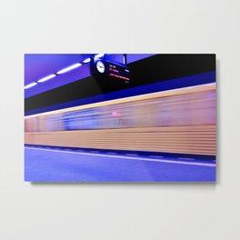 Tube Station in Berlin-Pankow Metal Print