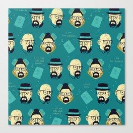 heisenberg pattern Canvas Print