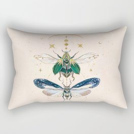 Moon insects Rectangular Pillow