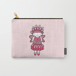 Pink Angel Carry-All Pouch