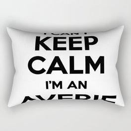 I cant keep calm I am an AVERIE Rectangular Pillow