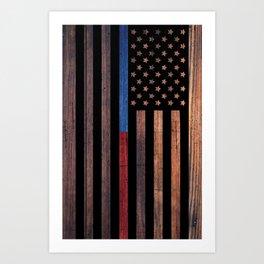 Represent First Responders Art Print